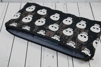 Black & White Skull Pencil Case