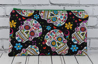Mexican Sugar Skull Pencil Case