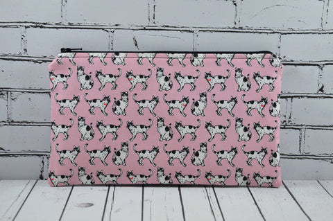 Cats Pencil Case, Small Cat Makeup Bag