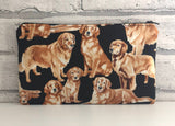 Golden Retriever Pencil Case, Dog Owner Gift - The Curious Needle