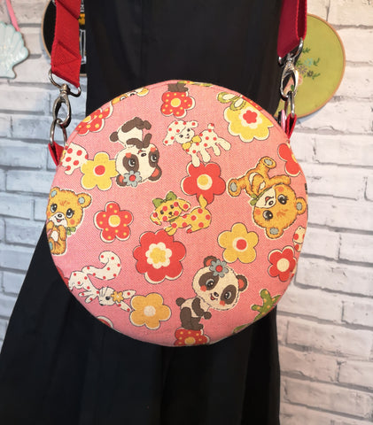 Kawaii Cross Body Bag, Adjustable Strap Handbag - The Curious Needle
