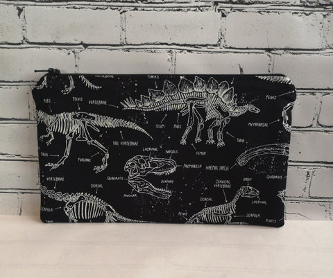 Glow in the Dark Dinosaur Pencil Case - The Curious Needle