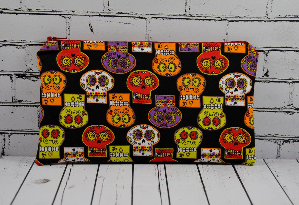 Sugar Skull Pencil Case