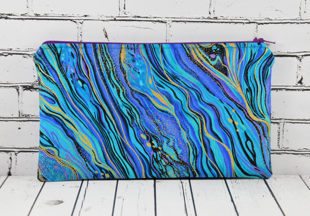 Marbled Pencil Case