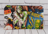 Movie Monsters Pencil Case, Classic Horror Zip Pouch - The Curious Needle
