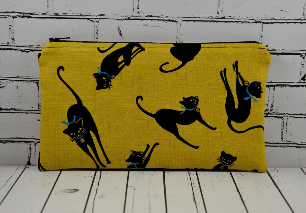 Lucky Black Cat Pencil Case