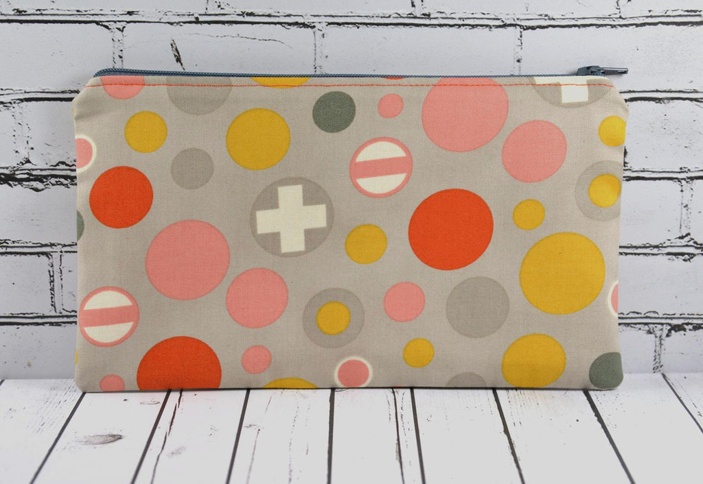 Polka Dot Pencil Case
