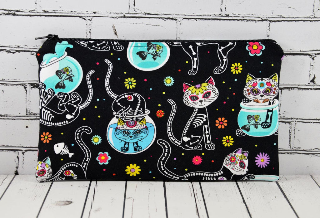 Day of the Dead Cat Pencil Case