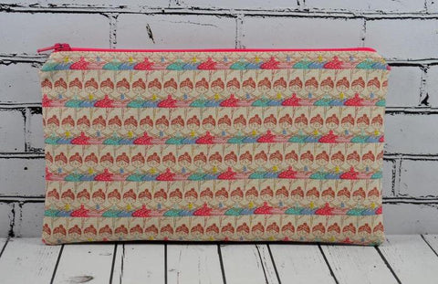 Ballerina Pencil Case, Ballet Gift, Zip Pouch
