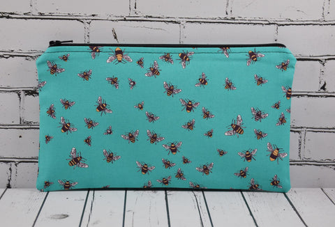 Blue Bees Pencil Case,