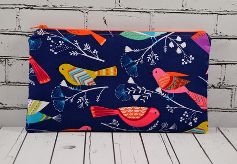 Bright Birds Pencil Case