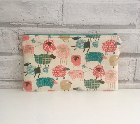 Sheep Pencil Case, Crochet Hook Case - The Curious Needle