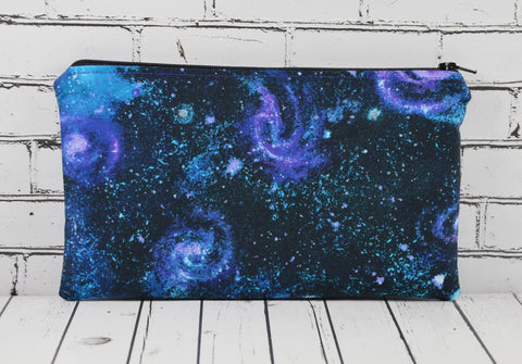 Galaxy Pencil Case, Solar System Pencil Pouch - The Curious Needle