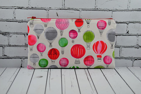 Hot Air Balloon Pencil Case - The Curious Needle