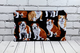 English Bulldog Pencil Case, Dog Owner Gift - The Curious Needle