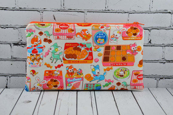 Kawaii Candy Pencil Case, Cute Deer Pencil Pouch
