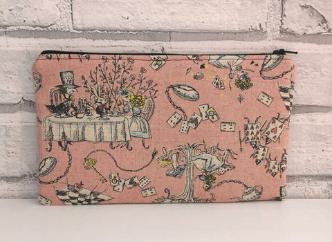 Alice in Wonderland Pencil Case. - The Curious Needle
