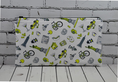 New York City Pencil Case Bag