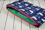 Swan Pencil Case, Crochet Hook Case