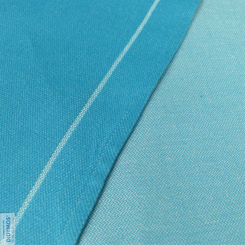 Didymos Doubleface Turquoise Tussah
