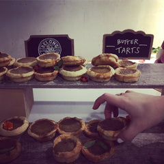 Butter tarts butter eye health alcon kitchen party chef brad long cafe belong