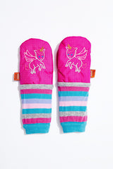 BABYWEARING MITTENS - ALL-WEATHER MIMITENS rainbow unicorn
