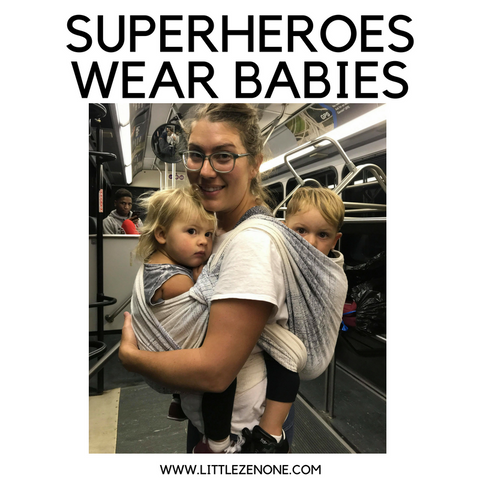 superheroes wear babies little zen one