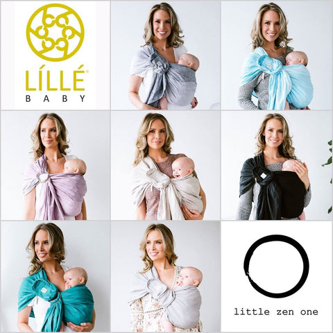 lillebaby eternal love ring sling linen 100% natural canada usa