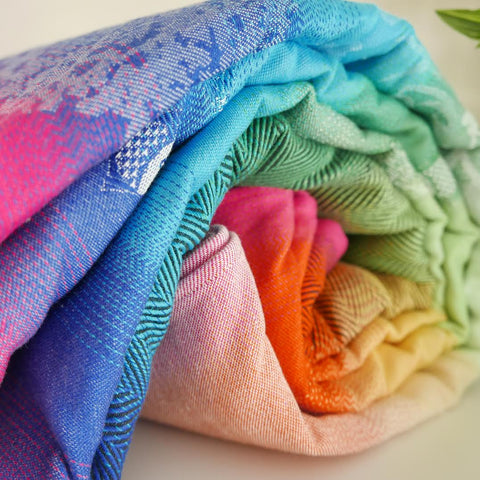 Didymos RAinbow Bunnies, Pfau, Fish, Lisca, Unicorn,