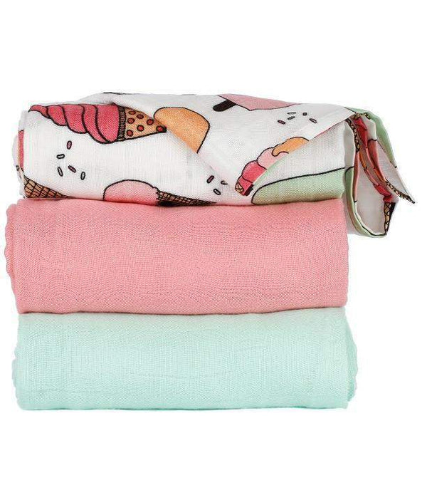 Baby & Parent Care - Tula Blanket Set - Triple Scoop