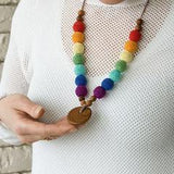 Babywearing Accessories - FrejaToys Rainbow Nursing Necklace