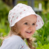Babywearing Accessories - Pickapooh Organic Cotton Sun Bonnet: Amelie Bloom