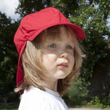 Babywearing Accessories - Pickapooh Organic Cotton UV Sun Hat: Felix Red