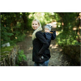 Babywearing Outerwear - Angel Wings Babywearing Softshell Jacket Anthracite