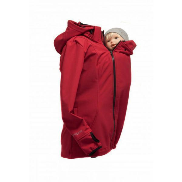 Babywearing Outerwear - Angel Wings Babywearing Softshell Jacket Red