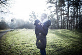 Babywearing Outerwear - Angel Wings Babywearing Winter Coat Anthracite
