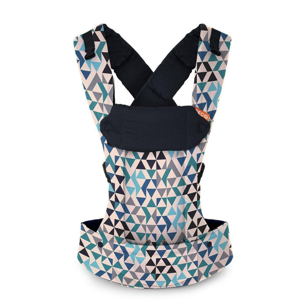 Buckle Carrier - Beco Gemini Geo Teal Blue
