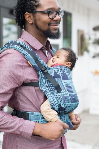 Buckle Carrier - Cityscape Tula Free-to-Grow Baby Carrier