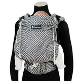 Buckle Carrier - Didymos Buckle Carrier DidySnap Metro Monochrome