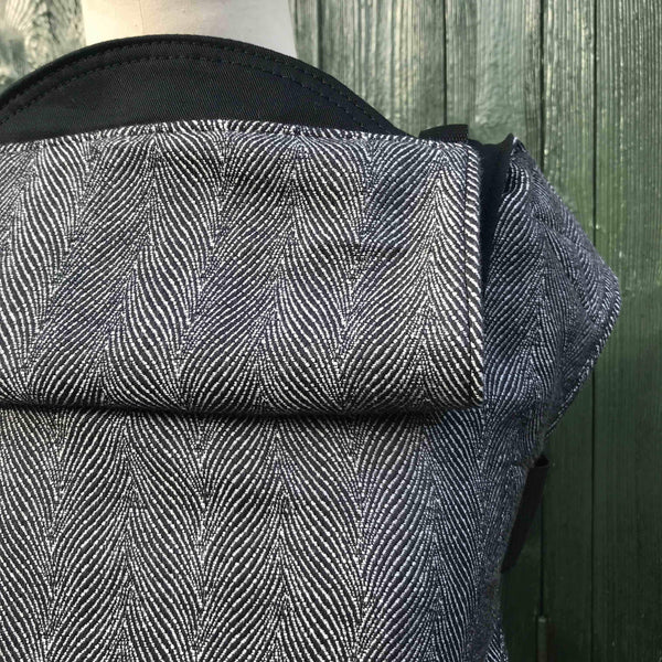 Buckle Carrier - Integra Baby Carrier Didymos Twisted Lisca Anthracite