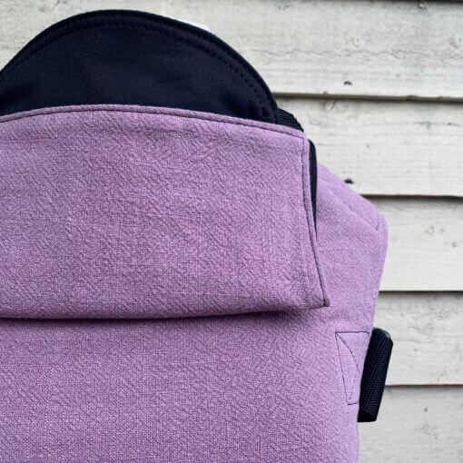 Buckle Carrier - Integra Baby Carrier Mauve Texture Linen
