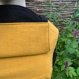 Buckle Carrier - Integra Baby Carrier Ochre Texture Linen