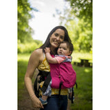 Buckle Carrier - Integra Baby Carrier Solar Electric Pink