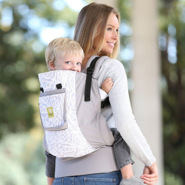 Buckle Carrier - LÍLLÉbaby CarryOn Toddler Carrier Frosted Rose