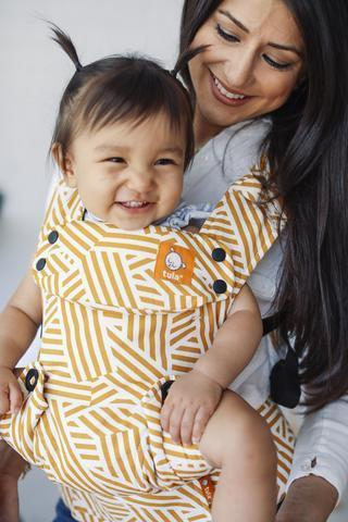 Buckle Carrier - Sunset Stripes - Tula Explore Baby Carrier