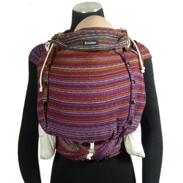Half Buckle Baby Carrier - Didymos DidyKlick Blueberry Fall