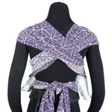 Half Buckle Baby Carrier - Didymos DidyKlick Flower Of Life Clematis