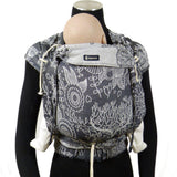 Half Buckle Baby Carrier - Didymos DidyKlick Magic Forest Monochrome
