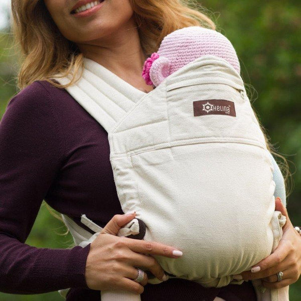 Meh Dais - Helina Baby Meh Dai Carrier Ivory