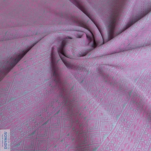 Woven Wrap - Didymos Baby Woven Wrap Platinum Pink